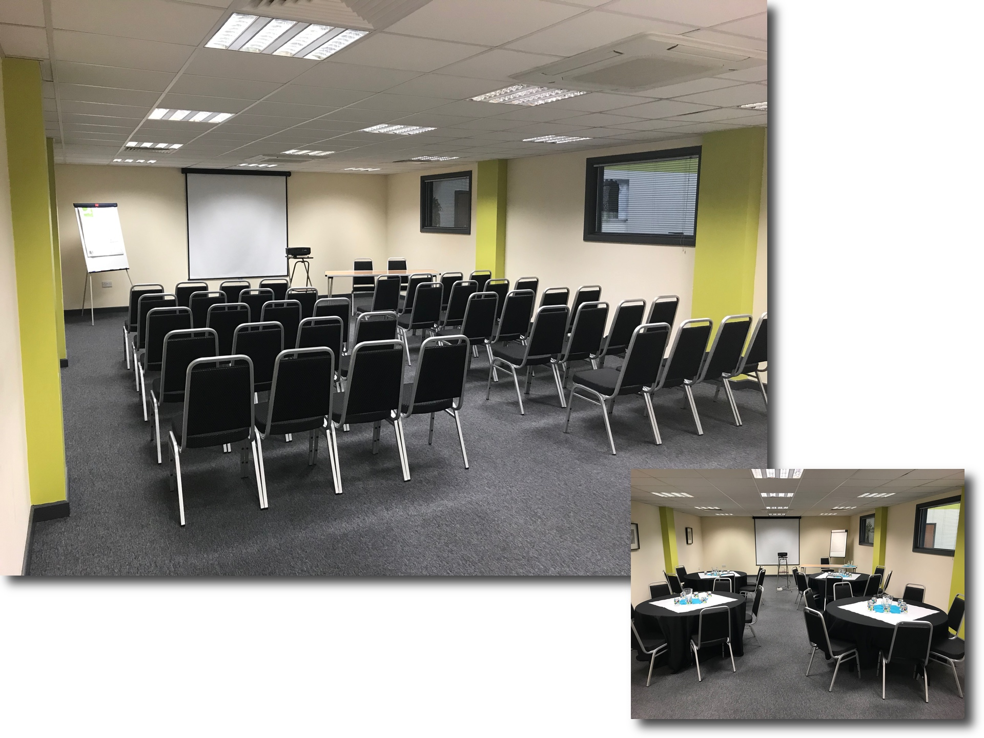 Big shed conference and meeting rooms in Leicester conference room 1